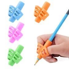 3/4Pc Practical Pen Pencil Holder Kids Child Writing Aid Grip Posture Correction