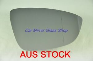 RIGHT DRIVER SIDE MIRROR GLASS FOR VW JETTA 2011  - 2018