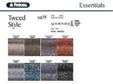 Patons Crocheting & Knitting Wool Tweed