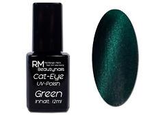 Cat Eye UV-Polish Gel 12ml Grün Green Nailart Nagel Trend #00910-03