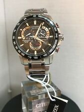 Citizen Men's Eco Drive Chrono A-T Radio Controlled Bracelet watch AT4008-51E