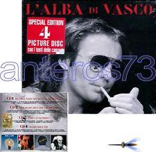 "VASCO ROSSI ""L'ALBA DI VASCO"" RARO BOX 4 CD PICTURE DISC - SIGILLATO"