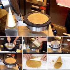 1.2KW Elettrica Macchina Piastra Per Cialda Coni Gelato Waffle Cialdiera Maker
