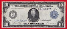 New listing 1914 $10 Federal Reserve Note San Francisco (Type B ) Rare.