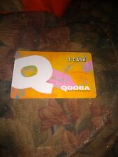 Qdoba * Used Collectible Gift Card NO VALUE * FD-59275