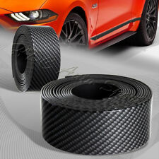 1.5m X 40mm Car Carbon Style Body Protector Door Sill Bar Scuff Plate Universal