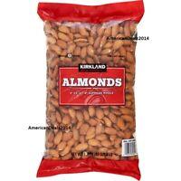 Kirkland Signature Supreme Whole Almonds 3 Pound - FAST SHIPPING!!! FRESH SEALED