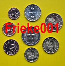Cyprus - Chypre - 1 cent tot 2 euro 2010 unc.