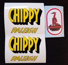 """CHIPPY"" childs bike baby Chopper decal/sticker set"