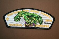 Northern New Jersey Council 2010 National Scout Jamboree-Marvel-The Hulk Patch