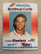 BRETT RODWELL 90s Illawarra Steelers Mercury Star Swap Westfield Nrl Card