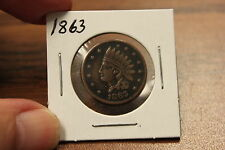 1863 Indian Head Not One Cent Civil War Token- Rare