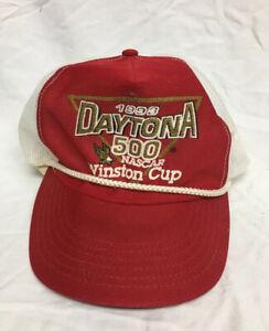 VTG 1993 Daytona 500 NASCAR Winston Cup Mesh SnapBack Hat Cap