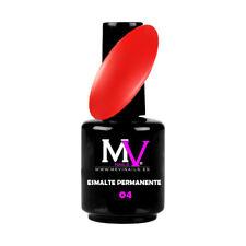 Emaille Permanente Nummer / N° 4 Gruppe Rot MV Nägel Qualität 100% professionell