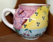 Favanol Creamer made in Portugal. Hand painted