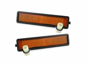 Genuine BMW E30 Front Side Marker Light Assembly Left AND Right SET 63141380560