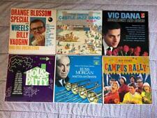 New ListingLot of 6 Big Band Records-Vaughn Castle Jazz Dana Morgan Kyser Faith Brewer Aces