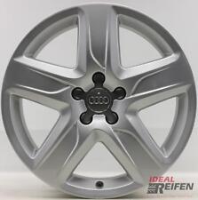 4 Audi A4 S4 8K B8 Cerchi in Lega da 18 Pollici 7x18 ET38 Originale Cerchioni