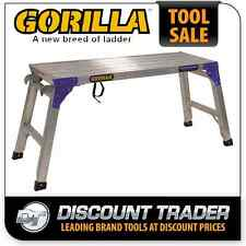 Gorilla 390x1100mm 120kg Adjustable Work Platform Connecting Brackets MW105-CWB