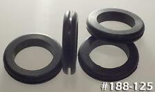 "Rubber Grommets ID Bore: 1-1/4"" OD: 1-7/8"" Fit Panel: 1-1/2"" 4/pk BUNA-S#188-125"