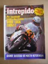 INTREPIDO n°31 1981 Marco Lucchinelli Anna Maria Nazzaro Ferrari 126K  [G489]