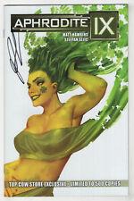 Aphrodite IX #9 (2014 Image) Signed St Patrick Variant [Limited 500 copies] u