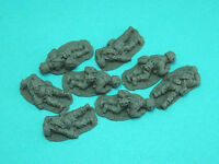 28mm WW2 Britsh Paratroop Casualties. Bolt Action, Chain of Command, unpainted