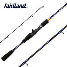 6.6'/7' Portable Casting Spinning Rods High Carbon Fiber Travel Fly Fishing Pole