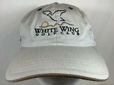 White Wing Golf Club Cap Texas Georgetown Golfing Hat Imperial Course Sun City