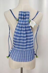 ISSEY MIYAKE me Blue Pleats Backpack 112 0713