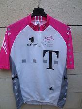VINTAGE Maillot cycliste DEUTSCHE TELEKOM Adidas Tour 98 ULLRICH trikot ZABEL 6