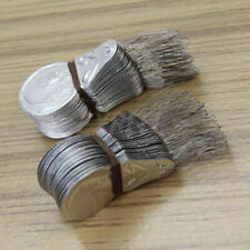 50Pcs Bow Wire Needle Threader Stitch Insertion Craft Tool Aluminum Nice M6R4