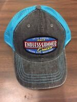 2017 Cruisin Endless Summer car show trucker hat gray and blue Ocean City MD