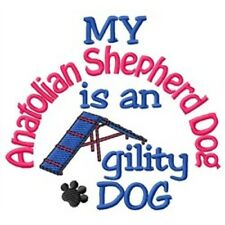 My Anatolian Shepherd is An Agility Dog Short-Sleeved Tee - Dc2086L