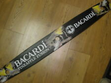 BACARDI RUM LIQUOR PINEAPPLE FUSION LONG WOOD 3-SHOT SHOOTER SERVING BOARD SIGN