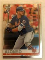 Pete Alonso 2019 TOPPS CHROME New York Mets ROOKIE RC #204