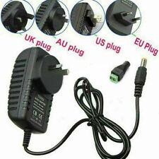 2A DC 12V EU UK Plug Power Supply Adapter Transformer for Camera LED Strip CCTV