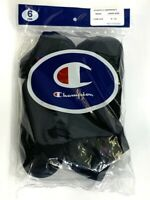 Champion Elite Men's Low Cut Black Socks 6 pair