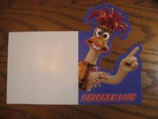 "Aardman- Chicken Run - Walmart 11"" Display Sign w/ Mac - 2000"