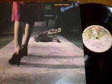BRAND X  - (Phil Collins) Do They Hurt ? - LP / 33 giri 1980 Charisma Italy