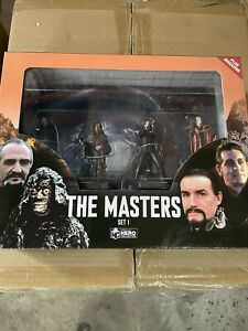 Eaglemoss Doctor Who Figurine Collection THE CLASSIC MASTER BOX SET 1