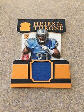2015 CROWN ROYALE HEIRS TO THE THRONE DIE CUT AMEER ABDULLAH GAME USED JRY LIONS
