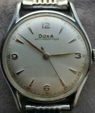Rare DOXA ANTIMAGNETIQUE - vintage Swiss men's wristwatch - from 50's