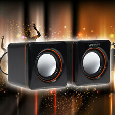 USB 3,5 mm Stereo Mini Lautsprecher Subwoofer für Desktop Laptop Notebook
