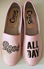 CIRCUS by Sam Edelman Pink Rose All Day Leni Flats Espadrilles Size 8 M