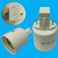 G23 To ES E27 Edison Screw Light Bulb Lamp Socket Converter Adaptor Holder