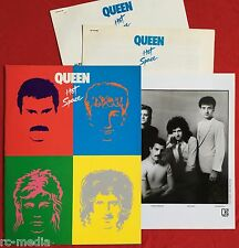 QUEEN -Hot Space- Rare USA Promo Kit inc Press Release, info & Promo Photo