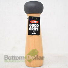 """OXO Good Grips 8"""" Durable & Adjustable Lily Salt Mill Natural Wood"""