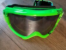 Kids Smith green ski snowboard snow goggles
