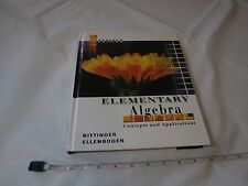 Elementary Algebra Concepts and Applications school book Math Bittinger Pearson